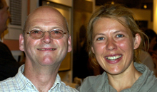 Martin Doyle also attended the 2011 RDS National Crafts Awards ceremony with his assistant Gwenn Frin.